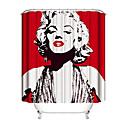 olcso Zuhanyfüggönyök-Shower Curtains & Hooks Kortárs Műanyagok / Poliészter Vízálló / Bájos
