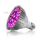 billiga Glödlampor-1st 50 W 2500-3200 lm 78 LED-pärlor Fullt Spektrum För växthus Hydroponic Växande ljusarmatur Vit Röd Blå 85-265 V Växtodling