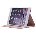 ราคาถูก เครื่องทดสอบและเครื่องตรวจจับ-Case สำหรับ Apple iPad Mini 5 / iPad Mini 3/2/1 / iPad Mini 4 360° Rotation / Shockproof / with Stand ตัวกระเป๋าเต็ม สีพื้น Soft หนัง PU