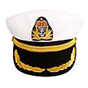 Χαμηλού Κόστους Φώτα Ποδηλάτου-Γιούνισεξ Μονόχρωμο Ενεργό Ακρυλικό Δέρμα Στρατιωτικό Καπέλο Όλες οι εποχές Λευκό Μαύρο