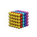ราคาถูก ของเล่นแม่เหล็ก-แผ่นแม่เหล็ก 125 pcs Zuko ลูกบอล ง่าย ทั้งหมด Toy ของขวัญ / Metal