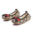 ราคาถูก รองเท้าแตะเด็ก-เด็กผู้หญิง ความสะดวกสบาย ผ้าใบ รองเท้าส้นเตี้ย เด็กวัยหัดเดิน (9m-4ys) / เด็กน้อย (4-7ys) สีดำ / สีน้ำตาล ฤดูใบไม้ผลิ