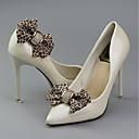 baratos Decorações-2pçs PU Leather Acessórios Decorativos Mulheres Primavera Casamento / Diário Leopardo