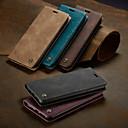 billige iPhone-etuier-caseme case magnetisk flip wallet telefon tilfeller retro solid farget hardt kort kortspor med stativ for iphone x / xs maks / xr / 7/8 pluss / 6 / 6s pluss / 5 / 5s / se