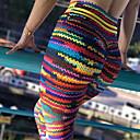 זול ביגוד כושר, ריצה ויוגה-בגדי ריקוד נשים מכנסי יוגה אלסטיין תחתיות לבוש אקטיבי פתילת לחות באט הרם סטרצ'י (נמתח)
