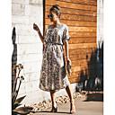 ราคาถูก รองเท้าบูตผู้หญิง-สำหรับผู้หญิง สง่างาม รูปตัว เอ แต่งตัว สัตว์ midi