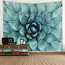 billige Wall Tapestries-Hage Tema / Blomster Tema Veggdekor 100% Polyester Moderne Veggkunst, Veggtepper Dekorasjon
