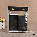 baratos Bolsa Transversal-Bolsa Protectora Bolsa Celular Telefone Móvel Bag para Á Prova-de-Chuva Zíper á Prova-de-Água 1 polegada PVC 15 m