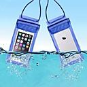 ราคาถูก กระเป๋ากันน้ำ และ กล่องกันน้ำ-Protective Bag Cell Phone Bag กระเป๋าโทรศัพท์มือถือโทรศัพท์ สำหรับ กันน้ำฝน ซิปกันน้ำ 6 inch พีวีซี 15 m