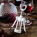 billige Vin Tilbehør-1pc Sinklegering ABS + PC Flaskeåpner Bar & Vinredskaper Corkscrews & Openers Corkscrews & Openers Enkel Klassisk Lett å Bruke Vin Tilbehør til barware