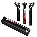 cheap Handlebars & Stems-Carbon Fiber Bike Seatpost 27.2/30.8/31.6 mm 400 mm Road Bike Mountain Bike MTB Cycling UD Black Carbon Fiber