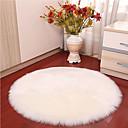 זול שטיחים-שטח שטיחים מודרני ראיון / פוליאסטר, עגולות איכות מעולה שָׁטִיחַ