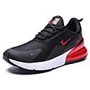 זול נעלי ספורט לגברים-בגדי ריקוד גברים נעלי נוחות דמוי עור אביב קיץ ספורטיבי / פרפי נעלי אתלטיקה ריצה / הליכה נושם אדום / שחור לבן / שחור אדום