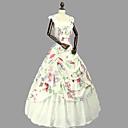 ราคาถูก เสื้อผ้าประวัติศาสตร์และวินเทจ-เจ้าหญิง Rococo Victorian หนึ่งชิ้น ชุดเดรส Party Costume เครื่องแต่งกาย สำหรับผู้หญิง ฝ้าย เครื่องแต่งกาย ผ้าขนสัตว์สีธรรมชาติ Vintage คอสเพลย์ เสื้อผ้าที่สวมไปงานเต้นรำสวมหน้ากาก พรรคและเย็น