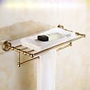ราคาถูก อ่างล้างมือ-ชั้นวางของในห้องน้ำ Multilayer / ดีไซน์มาใหม่ ร่วมสมัย ทองเหลือง 1pc ติดผนัง