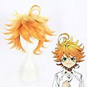 povoljno Anime kostimi-Cosplay Cosplay Cosplay Wigs Sve 14 inch Otporna na toplinu vlakna Bijela Anime