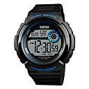זול Skin Care-SKMEI®1367 איש אישה חכמים שעונים Android iOS WIFI עמיד במים ספורטיבי המתנה ארוכה Smart צבע הדרגתי שעון עצר Alarm Clock לוח שנה אזור זמן כפול