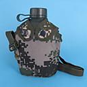 Χαμηλού Κόστους Μπρελόκ-χύτρα 2000 ml Κράμα αλουμινίου Με μόνωση Ανθεκτικό Πολύ Ελαφρύ (UL) για Κατασκήνωση Κατασκήνωση / Πεζοπορία / Εξερεύνηση Σπηλαίων Back Country Πράσινο Πράσινο Χακί