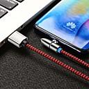 billige USB-hubber og brytere-Mini USB Kabel Magnetisk / 1 til 3 Nylon USB-kabeladapter Til Samsung / Huawei / iPhone