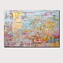 Χαμηλού Κόστους Αφηρημένοι Πίνακες-Hang-ζωγραφισμένα ελαιογραφία Ζωγραφισμένα στο χέρι - Αφηρημένο Τοπίο Σύγχρονο Μοντέρνα Περιλαμβάνει εσωτερικό πλαίσιο