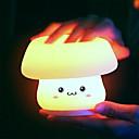 ราคาถูก อุปกรณ์เสริมหลอดไฟ-1pc Globe คืนแสงไฟ LED / เนอสเซอรี่ไนท์ไลท์ / Book Light USB แบบ Dual USB / สำหรับเด็ก / เปลี่ยนสีได้ 5 V