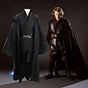 ราคาถูก เครื่องมือวัดอุณหภูมิ-แรงบันดาลใจจาก คอสเพลย์ / Star Wars คอสเพลย์ / Anakin Skywalker / Sith การ์ตูนอานิเมะ คอสเพลย์และคอสตูม ญี่ปุ่น ชุดคอสเพลย์ สีพื้น แขนยาว Top / กางเกง / ปกเสื้อ สำหรับ สำหรับผู้ชาย / เสื้อคลุม