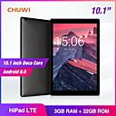 ราคาถูก เซ็นเซอร์ตรวจจับความเคลื่อนไหว-CHUWI HiPad LTE 10.1 inch phablet / แท็บเล็ต Android ( Android 8.0 1920*1200 สิบหลัก 3GB+32GB )