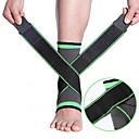 billige Vanity-lamper-Ankelstøtte til Løp Camping & Fjellvandring Vandring Ultra Tynn Stretch Pustende 70% Acryl / 30% Bomull Mikrofiber Fiber 1 stk Sport & Utendørs Atletisk Grønn