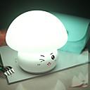 ราคาถูก อุปกรณ์เสริมหลอดไฟ-1pc Globe คืนแสงไฟ LED / เนอสเซอรี่ไนท์ไลท์ USB ความเครียดและความวิตกกังวลบรรเทา / ชาร์จใหม่ได้ / เปลี่ยนสีได้ 5 V