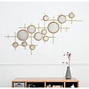 זול עיצוב וקישוט לקיר-מופשט קיר תפאורה זכוכית / מתכת ארופאי וול ארט, אומנות קיר ממתכת תַפאוּרָה