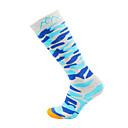 ราคาถูก เครื่องประดับสำหรับผู้ชาย-Hiking Socks ถุงเท้ากีฬา / ถุงเท้ากีฬา ถุงเท้าการบีบอัด ถุงเท้ายาว ถุงเิท้าสูงประมาณเข่า 1 คู่ Moisture Wicking Warm แห้งเร็ว ลดการถลอก สลับ ฝ้าย ฤดูใบไม้ร่วง สำหรับ สำหรับผู้ชาย สำหรับผู้หญิง Skiing