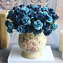 povoljno Umjetno cvijeće-Umjetna Cvijeće 5 Podružnica Klasični Europska Simple Style Roses Vječni cvjetovi Cvjeće za stol