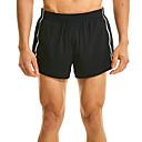 ราคาถูก รองเท้าแตะ & Loafersสำหรับผู้ชาย-สำหรับผู้ชาย useless สายรัดเอวยางยืด ลายต่อ กีฬา กางเกงขาสั้น ด้านล่าง วิ่ง ยิมออกกำลังกาย แห้งเร็ว นุ่ม Sweat-wicking ลายบล็อคสี สีพื้น สีดำ ส้ม / ผสมยางยืดไมโคร