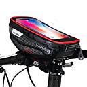 Χαμηλού Κόστους Παιχνίδια για γάτες-Κινητό τηλέφωνο τσάντα Τσάντα για τιμόνι ποδηλάτου 6.2 inch Ποδηλασία για iPhone 8 Plus / 7 Plus / 6S Plus / 6 Plus iPhone X Μαύρο Μαύρο-Κόκκινο Ποδηλασία / Ποδήλατο