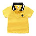 billiga Swim Goggles-Barn Pojkar Aktiv Grundläggande Enfärgad Broderad Kortärmad Bomull T-shirt Rodnande Rosa