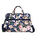 ราคาถูก ผ้าคลุมเบาะ-litbest 13 นิ้วแล็ปท็อปกระเป๋าสะพาย messenger / กระเป๋ากระเป๋าถือกระเป๋าผ้าใบพิมพ์ดอกไม้สำหรับสำนักงานธุรกิจ