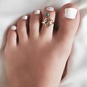 ราคาถูก ตุ้มหู-สำหรับผู้หญิง แหวน เรซิ่น 1pc สีทอง สีเงิน โลหะผสม วินเทจ โบโฮ ทุกวัน ฮอลิเดย์ เครื่องประดับ Hollow Flower Heart