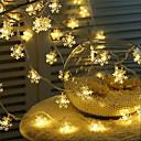 baratos Luzes & Lanternas de Acampamento-3M Cordões de Luzes 20 LEDs Branco Quente / RGB / Branco Criativo / Festa / Decorativa Carregamento USB 1conjunto