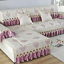 billige 3D gardiner-Sofa Pute Romantik / Klassisk / Moderne Mønstret / Mønsterpreget / Kviltet Bomull / Polyester / bomullsblanding slipcovere