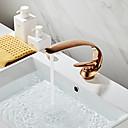 ราคาถูก อุปกรณ์เสริมก๊อกน้ำ-ชุดก๊อกน้ำ - กระจาย ทองกุหลาบ ตัวเจาะนำศูนย์ จับเดี่ยวหนึ่งหลุมBath Taps