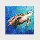 ราคาถูก ภาพวาดสัตว์-ภาพวาดสีน้ำมันแขวนทาสี มือวาด - สัตว์ต่างๆ ที่ทันสมัย รวมถึงด้านในกรอบ