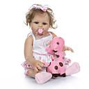 ราคาถูก อุปกรณ์ตุ๊กตา-NPKCOLLECTION Reborn Dolls เด็กทารก 20 inch ซิลิโคนร่างกายเต็มรูปแบบ ไวนิล - เหมือนจริง ของขวัญ การปลูกถ่ายประดิษฐ์ตาสีฟ้า เด็ก ทุกเพศ Toy ของขวัญ