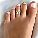 ราคาถูก ตุ้มหู-สำหรับผู้หญิง แหวน เรซิ่น 1pc สีทอง สีเงิน โลหะผสม วินเทจ โบโฮ Small ทุกวัน ฮอลิเดย์ เครื่องประดับ สไตล์วินเทจ Leaf Shape Heart