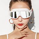 זול פיאות תחרה סינטטיות-משקפי שחייה עמיד משקפי שחייה נגד ערפל חוץ שחייה מתנת חבר סיליקוןריצה גומי PC לבן אדום ורוד