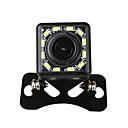 Χαμηλού Κόστους Κάμερα Οπισθοπορείας Αυτοκινήτου-ziqiao 12 οδήγησε φώτα 170-βαθμού νυχτερινή όραση αδιάβροχο αυτοκίνητο οπίσθια προβολή φωτογραφική μηχανή