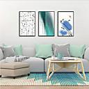billige Innrammet kunst-Innrammet Kunstrykk Innrammet Sett - Abstrakt Blomstret / Botanisk Polystyrene Tegning Veggkunst