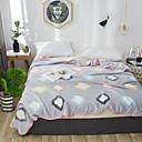 זול שטיחי קיר-שמיכות מיטה / סופה לזרוק / שמיכות רב תכליתיות, נקודות / אנימציה / קלאסי פלנל פליז חם יותר רך נוח סמיך