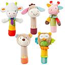ราคาถูก โมเดลการ์ตูนแอคชั่น-รูปสัตว์ Sheep Owl Bear Stuffed & Plush Animals สัตว์ต่างๆ น่ารัก Grip ที่สะดวก / Toy ของขวัญ 5 pcs