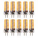 billige Damptilbehør-YWXLIGHT® 10pcs 5 W LED-lamper med G-sokkel 300-400 lm GY6.35 T 72 LED perler SMD 5730 Varm hvit Kjølig hvit 12-24 V