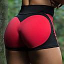 baratos Roupas para Corrida, Ioga & Fitness-Mulheres Shorts De Yoga Moderno Elastano Corrida Fitness Shorts Roupas Esportivas Respirável Macio Butt Lift Micro-Elástica